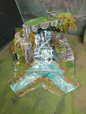 Modular Waterfall W Tunnel & Steps by Foofighterubu