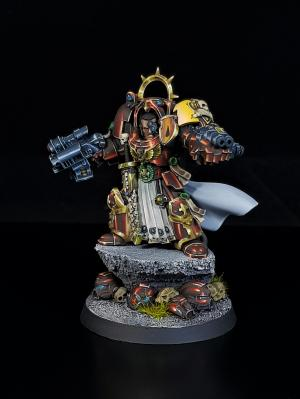 Blood Angels Terminator Captain ( Collectors Edition) by George1