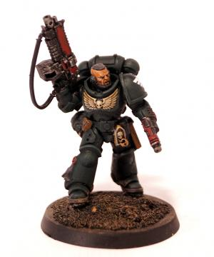 Dark Angels Primaris Lieutenant by Grim Factorum