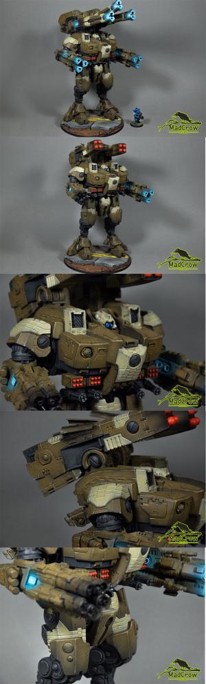 K X139 Ta'unar Supremacy Armor by Mad Crow Studio