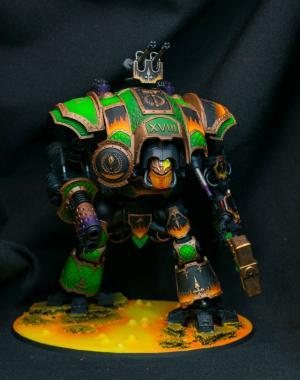 Salamanders Imperial Knight by Piriney