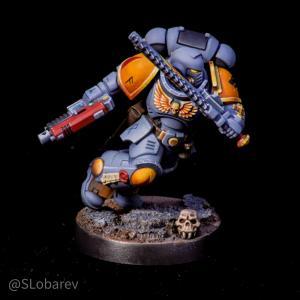 Space Wolves Assault Intercessor Sergeant by El Sabel