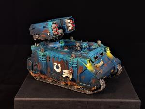 Ultramarines Whirlwind Tank by George1