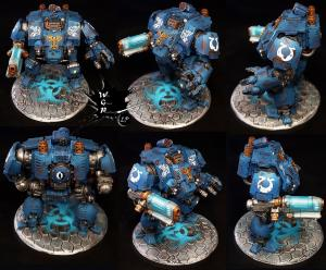 Primaris Redemptor Dreadnought Ultramarines Warhammer 40 K
