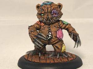 Malifaux Neverborn Teddy Miss Ery