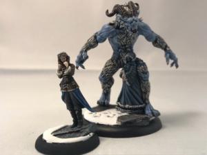 Malifaux Arcanists Snowstorm Rasputina