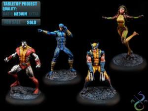 Marvel Universe Miniatures X Men by Beren Miniaturas Studio