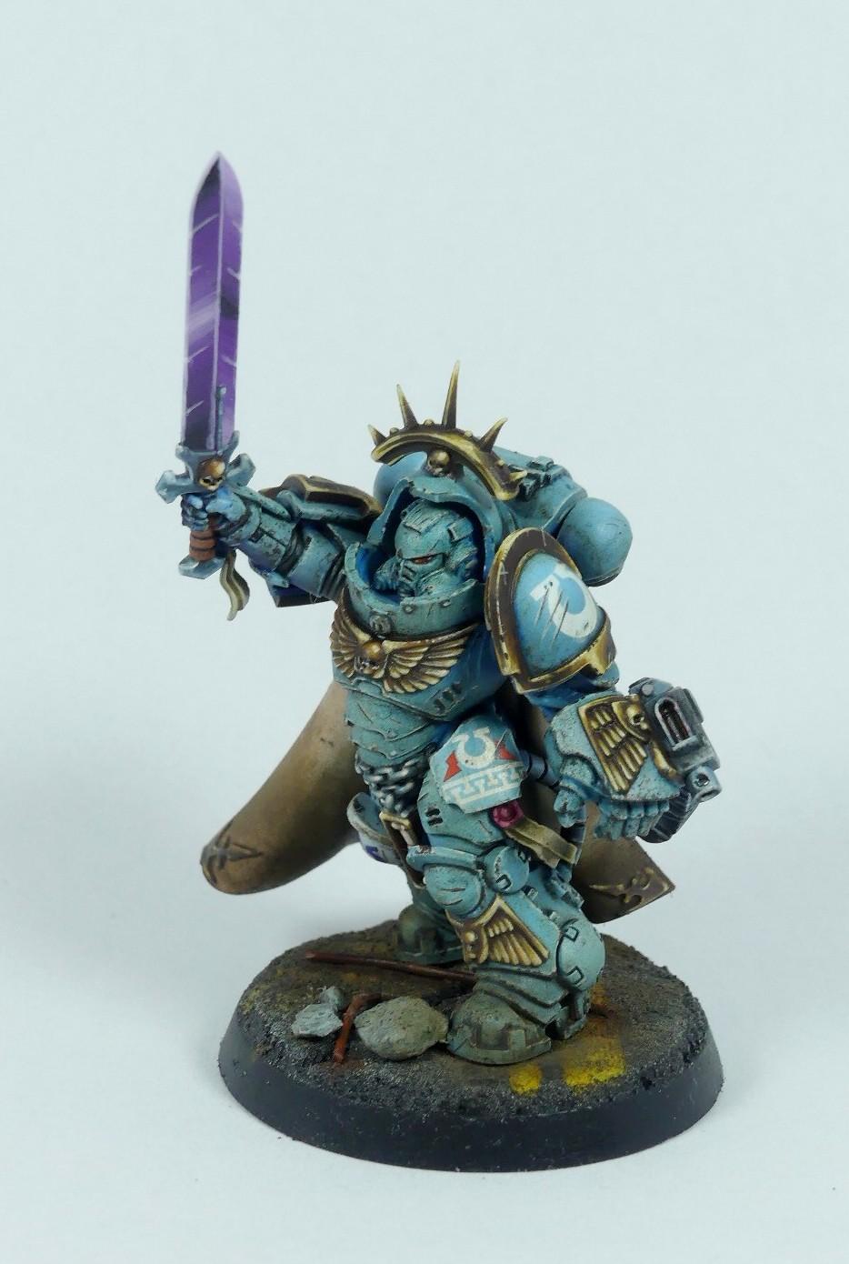 Ultramarines Captain in Mk