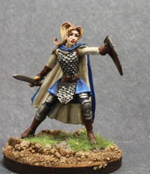 Dark Sword Female Warrior by Superbug983