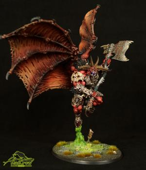 Khorne Bloodthirster by Mad Crow Studio