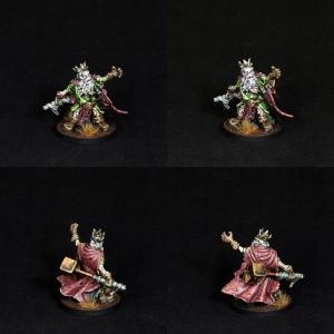 Undead Dwarf King by Frozen Fire Arts