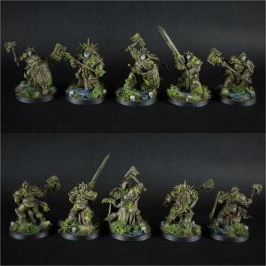 Warhammer Age of Sigmar Stonecast Eternals Warcry Warband by Green Brush