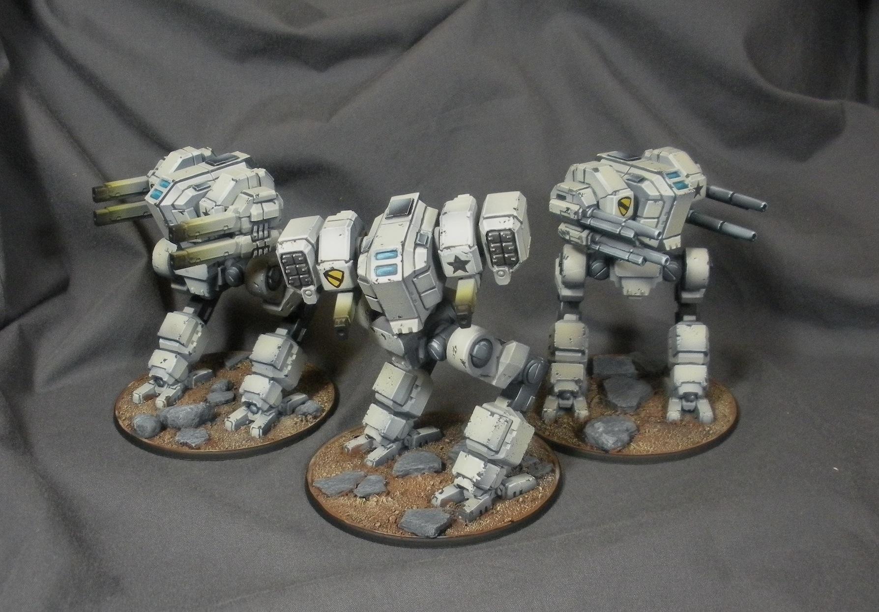 Mecha Front Lynx Mechs